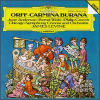Orff: Carmina Burana - Bernd Weikl (baritone); June Anderson (soprano); Philip Creech (tenor); Chicago Symphony Chorus (choir, chorus); Glen Ellyn Children's Chorus (choir, chorus); Chicago Symphony Orchestra; James Levine (conductor)