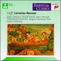 Orff: Carmina Burana - Harve Presnell (baritone); Janice Harsanyi (soprano); Rudolf Petrak (tenor); Rutgers University Choir (choir, chorus);...
