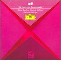 Orff: De temporum fine comoedia - Anna Tomowa-Sintow (vocals); Anton Diakov (vocals); Boris Carmeli (vocals); Christa Ludwig (contralto); Colette Lorand (vocals); Erik Geisen (vocals); Glenys Loulis (vocals); Gwendolyn Killebrew (vocals); Hannes Jockel (vocals); Hans Helm (vocals)