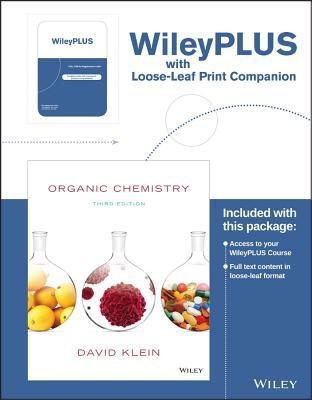 Organic Chemistry, 3e Loose-leaf Print Companion - Klein, David R.