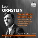 Ornstein: Piano Music, Vol. 1