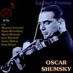 Oscar Shumsky: Broadcasts & Live Recordings