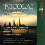 Otto Nicolai: Orchestral Works, Vol. 1