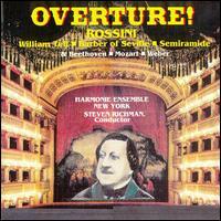 Overture - Harmonie Ensemble New York; Steven Richman (conductor)