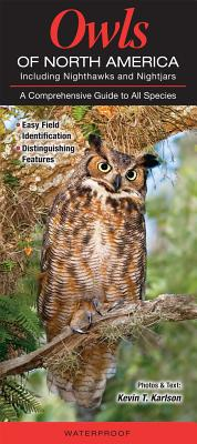 Owls of North American Including Nighthawks and Nightjars: A Comprehensive Guide to All Species - Karson, Kevin T