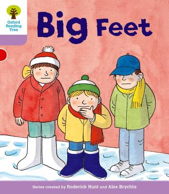 Oxford Reading Tree: Level 1+: First Sentences: Big Feet - Howell, Gill, and Hunt, Roderick