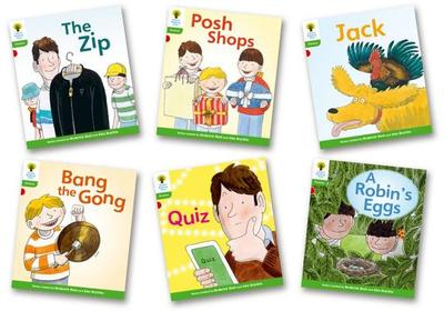 Oxford Reading Tree: Stage 2: Floppy's Phonics Fiction: Pack of 6 - Roderick Hunt, Kate Ruttle
