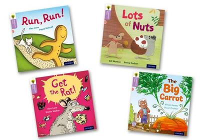 Oxford Reading Tree Traditional Tales: Level 1+: Pack of 4 - Munton, Gill
