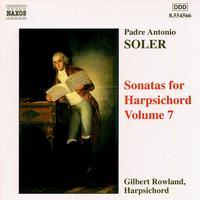Padre Antonio Soler: Sonatas for Harpsichord Vol. 3 - Gilbert Rowland (harpsichord)