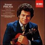 Paganini: Violin Concerto No. 1; Sarasate: Carmen Fantasy