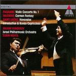 Paganini: Violin Concerto No. 1; Waxman: Carmen Fantasy; Saint-Saëns: Havanaise; Introduction & Rondo Capriccioso