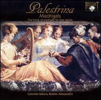 Palestrina: Madrigals, Book 1 - Andrea Damiani (lute); Claudio Cavina (chant); Claudio Cavina (alto); Concerto Italiano; Daniele Carnovich (bass);...