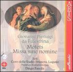 Palestrina: Missa sine nomine; Motets