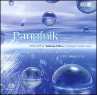 Panufnik: Heroic Overture; Sinfonia de Sfere; Landscape; Sinfonia Sacra - Tampere Philharmonic Orchestra; John Storg�rds (conductor)