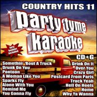 Party Tyme Karaoke: Country Hits, Vol. 11 - Various Artists