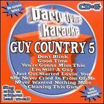 Party Tyme Karaoke: Guy Country, Vol. 5