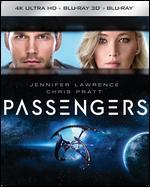 Passengers: SteelBook [4K Ultra HD Blu-ray] [3D] [Blu-ray] [Only @ Best Buy]