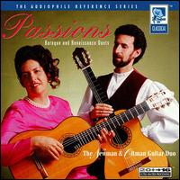Passions: Baroque & Renaissonce Duets - Newman & Oltman Guitar Duo
