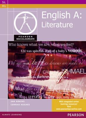 Pearson Baccalaureate: English A: literature for the IB Diploma - Adkins, Jan, and Hughes, Conrad