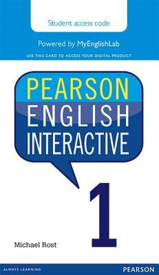 Pearson English Interactive 1 (Access Code Card) - Rost, Michael