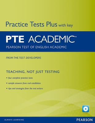 Pearson Test of English Academic Practice Tests Plus and CD-ROM with Key Pack - Chandler, Kate, and da Silva, Lisa, and Cotterill, Simon