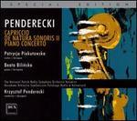 Penderecki: Capriccio; De Natura Sonoris II; Piano Concerto [Special Edition]