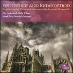 Penitence and Redemption
