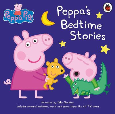 Peppa Pig: Bedtime Stories - Sparkes, John (Read by)