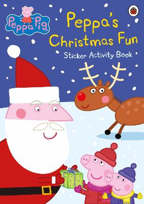 Peppa Pig: Peppa's Christmas Fun Sticker Activity Book -