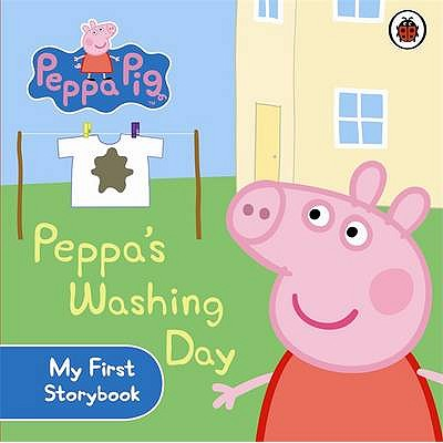 Peppa Pig: Peppa's Washing Day: My First Storybook -