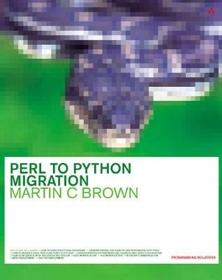Perl to Python Migration - Brown, Martin C