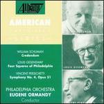 Persichetti: Symphony No. 4, Op. 51; William Schuman: Credendum
