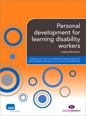 Personal development for learning disability workers - Barcham, Lesley