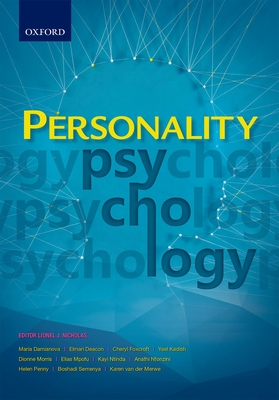 Personality psychology - Lynch, I., and Duncan, N.