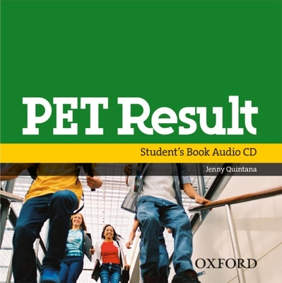 PET Result: Class Audio CD - Quintana, Jenny