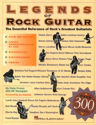 Pete Prown/H.P. Newquist: Legends Of Rock Guitar - Prown, Pete, and Newquist, H. P., and Eiche, Jon F. (Editor)