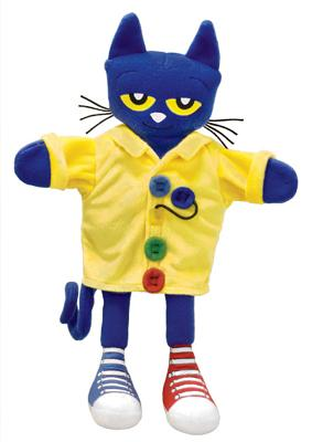 "Pete the Cat and His Four Groovy Buttons Puppet: 14.5"" - Duskey Rinker, Sherry"