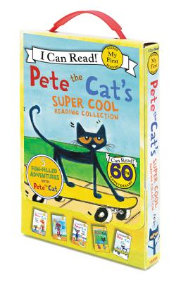 Pete the Cat's Super Cool Reading Collection: Too Cool for School/Play Ball!/Pete at the Beach/Pete's Big Lunch/A Pet for Pete - Dean, Kimberly