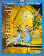 Peter Pan [Diamond Edition] [2 Discs] [Blu-ray/DVD] - Clyde Geronimi; Hamilton Luske; Wilfred Jackson