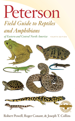 Peterson Field Guide to Reptiles and Amphibians of Eastern and Central North America - Powell, Robert