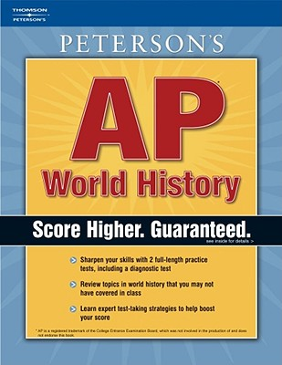 Peterson's AP World History - Moran, Margaret C, and Holder, W Francis