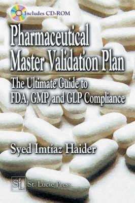 Pharmaceutical Master Validation Plan - Haider, Syed Imtiaz