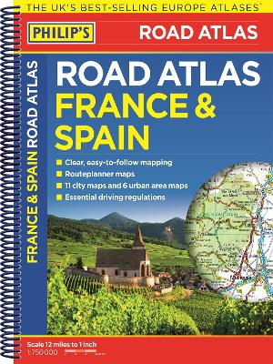 Philip's France and Spain Road Atlas -