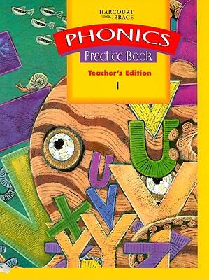 Phonics Practice Book Teacher's Edition 1 - Harcourt Brace Publishing (Creator)