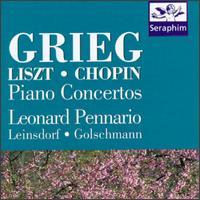 Piano Concertos: Grieg/Liszt/Chopin - Leonard Pennario (piano)