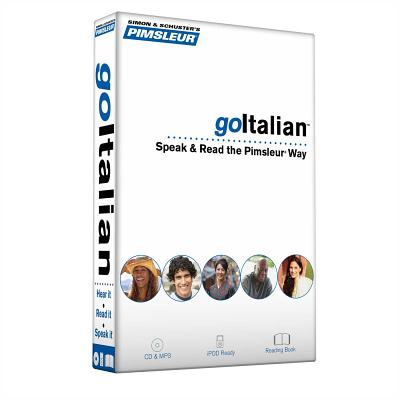 Pimsleur goItalian Course - Level 1 Lessons 1-8 CD: Learn to Speak, Read, and Understand Italian with Pimsleur Language Programs - Pimsleur