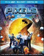 Pixels [3D] [Blu-ray] [2 Discs]
