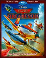 Planes: Fire & Rescue [2 Discs] [Includes Digital Copy] [Blu-ray/DVD] - Roberts Gannaway
