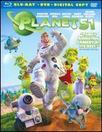 Planet 51 [2 Discs] [Includes Digital Copy] [Blu-ray/DVD]