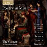 Poetry in Music: Britten, Howells, Ramsey, Rubbra, Tippett, Tomkins
